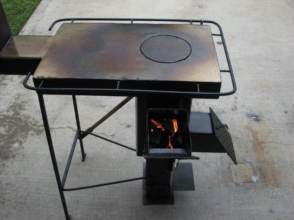 Multi-Use Rocket stove
