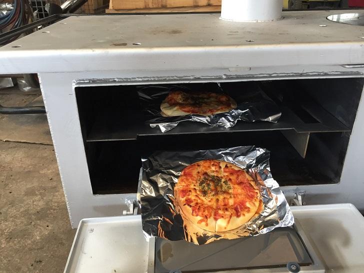 オーブン改造完成形