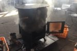 焚き付け時、煙逆流問題を改善する