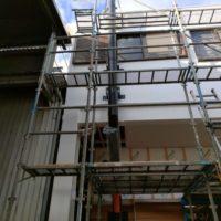 煙突設置工事