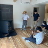 新築ショールームへKD01を納品